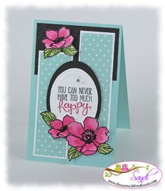 Stampin Up Fabulous Florets by SandiMac - Cards and Paper Crafts at Splitcoaststampers