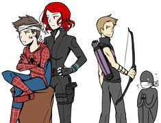 "14 Pelea por él from the story ""Un amor conflictivo"" - Spideypool by MaraLadyArt (Lady Loki) with reads. Marvel Avengers, Marvel Jokes, Marvel Funny, Marvel Art, Marvel Dc Comics, Marvel Heroes, Avengers Team, Spideypool, Superfamily Avengers"