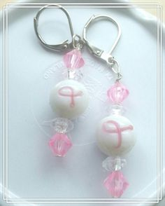 Check out this item in my Etsy shop https://www.etsy.com/listing/294463767/fight-like-a-girl-beaded-cancer-earrings