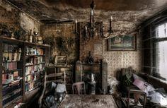 Abandoned house left untouched