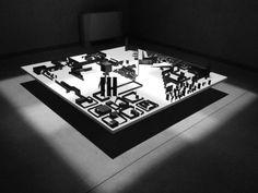 """#nextarch by @clara_peverali #next_top_architects • Mostra """"Città Continua"""" • Presidio Temporaneo di Architettura • Padiglione Vago #presidiotemporaneodiarchitettura #pianta #acciaio #architettura"""