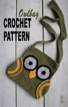 easy to make owl bag!