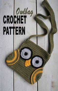 easy to make owl bag!