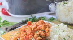 Crock Pot Chicken Tikki Masala Easy Supper Recipe via Dreaming in DIY