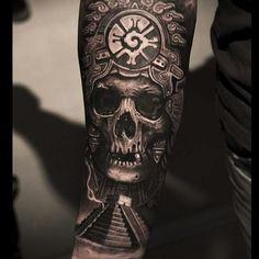 Skull tattoo..