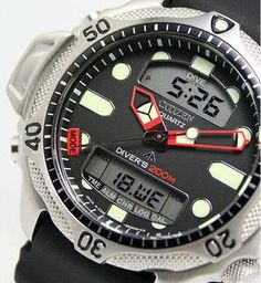6dbce778213 Citizen Aqualand Diver Depth Meter Promaster JP1010-00E JP1010 Men s Watch