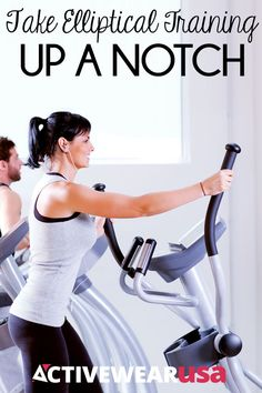 Take Elliptical Training Up A Notch