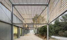 Wood and metal sandwich panels clad PAN Architects' striking Marseille Architecture School extension | Inhabitat - Green Design, Innovation, Architecture, Green Building