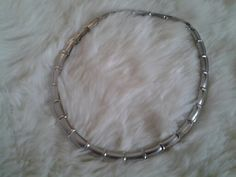 Sterling silver necklace.