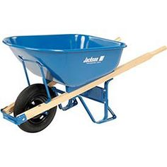 Jackson 6Cubic Foot Steel Contractor Wheelbarrow  M6T22 -- You can get additional details at the image link.