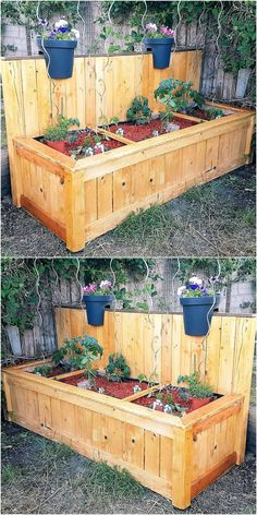 The huge lawn or garden can be decorated with this planter and a person can create as many as required for making the area adorable. It is a huge planter with the separation and a different flower can placed in each section.