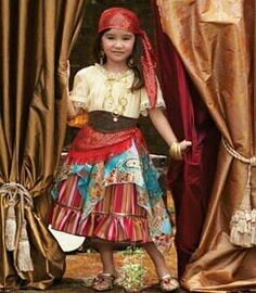 """Gypsy (this could have been me as a child, I played """"gypsy"""" like other little girls played """"house"""")"""