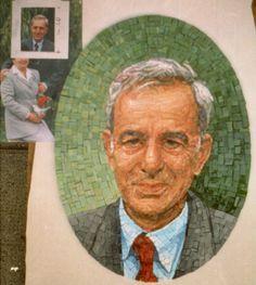 mosaic: portrait  by GIULIO MENOSSI