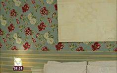 Dê uma repaginada em casa com a técnica do tecido na parede