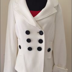"Cotton Military Style Summer Jacket Very comfortable cotton ""blazer"" with lining Jackets & Coats Pea Coats"