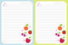 Cartas - Frutas