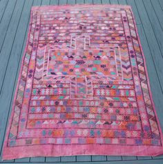 """5x7'8"""" Vintage Kilim Rug by BEHomeCo on Etsy https://www.etsy.com/listing/469189665/5x78-vintage-kilim-rug"""