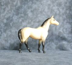 Breyer Stablemate SR Swaps in Black Leopard Appaloosa Sears 1989 G1 OLD PLASTIC