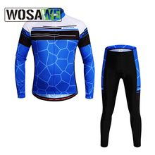 US $48.99 Wosawe 2 Color Women Men Cycling Jersey Sets Outdoor MTB Bike Bicycle Riding Professional Breathable Clothings with GEL Pad. Aliexpress product