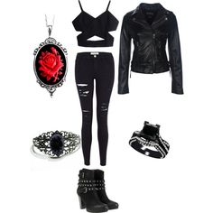 Teen Wolf Erika inspired outfit