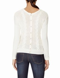 Reversible Cable Knit Sweater from THELIMITED.com #TheLimited #TheSweaterShop
