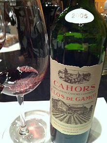 Cahors (pronounced:[ka.ɔʁ]) is a red wine from grapes grown in or around the town of Cahors, France. Cahors is an Appellation d'origine con...
