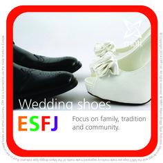 What (MBTI) type of shoe are you? ESFJ enjoys a good wedding!