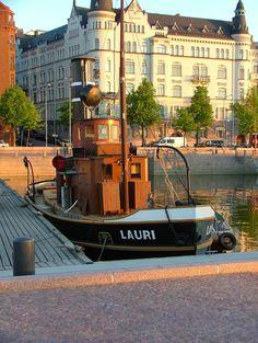 """Lauri"" - Firewood Quay, Helsinki, Finland"