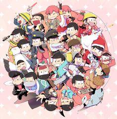 おそ松さん Osomatsu-san「どうぞ、お好きなおそ松を!」/「井戸田」のイラスト [pixiv]