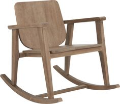 outback rocking chair  | CB2
