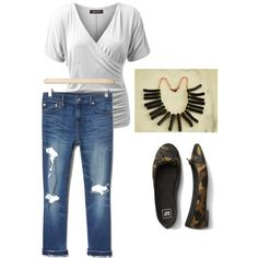 Weekend Outfit Inpsiration by jewelsbytrish on Polyvore featuring weekendoutfit