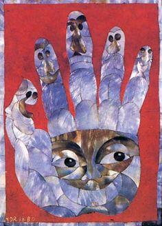 Hervé Di Rosa, la main de l'artiste