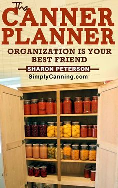 The Canner Planner, Organization is a girl's best friend you know! I may start my own in January putting in recipes, what, how much, etc. Canning Tips, Home Canning, Canning Recipes, Canning Food Preservation, Preserving Food, Water Bath Canning, Provident Living, Canned Food Storage, Pots
