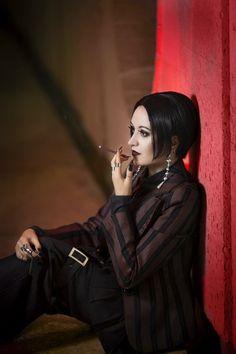 Nana Oosaki cosplay by Anami (Russia) Yazawa Ai, Nana Osaki, Goth, Punk, Singer, Cosplay, Smoke, In This Moment, Gothic
