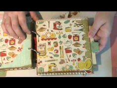 Nan's Favourites Recipe Mini Album - YouTube