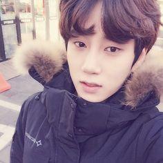 Hehe!   { #Kanghan #JoYoungBin #Leader #MVP #PHEntertainment #Kpop } ©Instagram @kang.hann