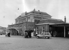 Station met een DKW !