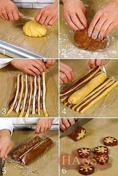 different cookie recipes – women - Kekse Checkered Cake, Cupcake Cakes, Cupcakes, Bread Shaping, Food Decoration, Yummy Cookies, Shortbread Cookies, Icebox Cookies, Almond Cookies