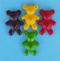Teddy Bear Crayons Bear Crayons Custom Crayons by KrazyKoolKrayons