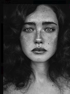 PHOTOGRAPHY ~ FACES FRECKLES