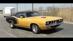 1971 Plymouth Barracuda 340 Spotted
