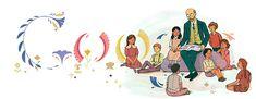 Google Doodle of the Day - Janusz Korczak's Year (Poland)