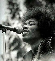 Jimi Hendrix. This beautiful man and his beautiful music.