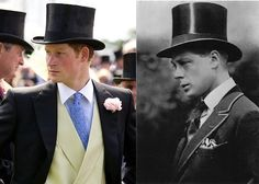 Royal look-a-likes: Prince Harry and the the Queen's paternal uncle, David, the Prince of Wales, (later King Edward VIII, who abdicated.)