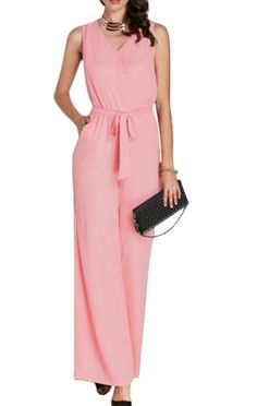 1b9f674dd9df fashion nova Garden long jumpsuits 2018 autumn winter pink wide leg flare  trousers Casual Party Elegant women rompers overalls