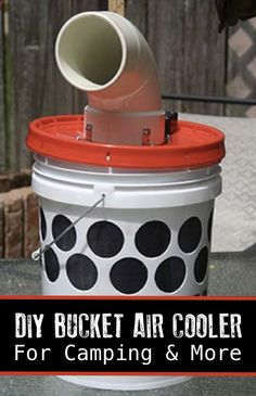 How To Make A DIY Bucket Air Cooler For Camping And Other Uses...http://homestead-and-survival.com/how-to-make-a-diy-bucket-air-cooler-for-camping-and-other-uses/