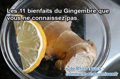 Découvrez tous les bienfaits du gingembre pour la santé :-)  Découvrez l'astuce ici : http://www.comment-economiser.fr/quels-sont-bienfaits-gingembre.html?utm_content=buffercd84d&utm_medium=social&utm_source=pinterest.com&utm_campaign=buffer