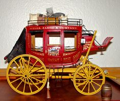 Lindberg 1/16 scale Wells Fargo Overland Concord Stagecoach - FineScale Modeler - Essential magazine for scale model builders, model kit reviews, how-to scale modeling, and scale modeling products