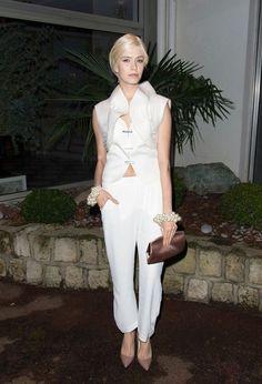 Elena Perminova Photos: Celebs at the Sidaction Gala Dinner - Celebrity Fashion Trends