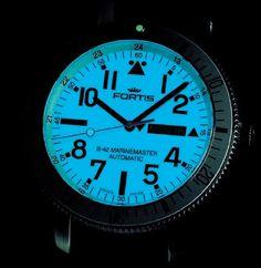 FORTIS B-42 MARINEMASTER (647.11.42 SI 02) full lume dial